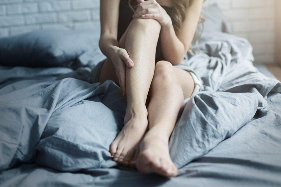 Mejorar la circulación de las piernas en la cama
